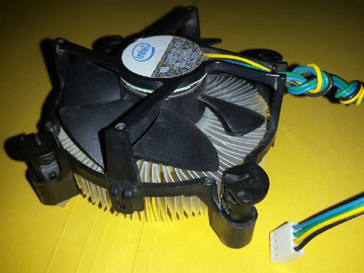 Cooler disipador ventilador intel s775