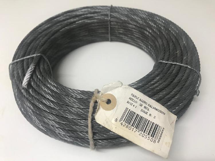Cable acero galvanizado trenzado 5 mm