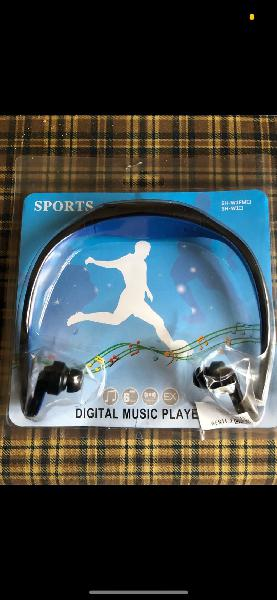Cascos auriculares bluetooth deportivos nuevos