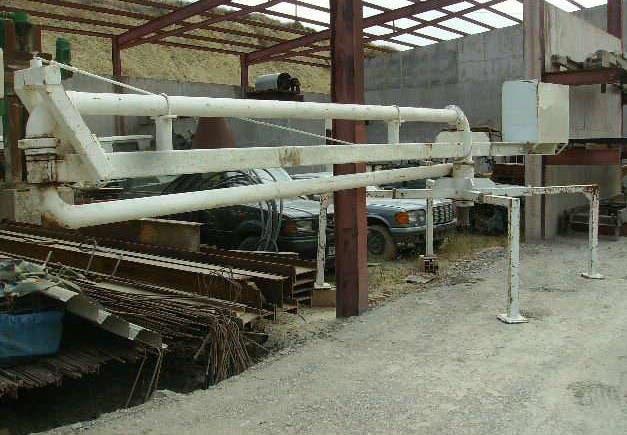 Distribuidor de hormigon articulado 20 metros diam