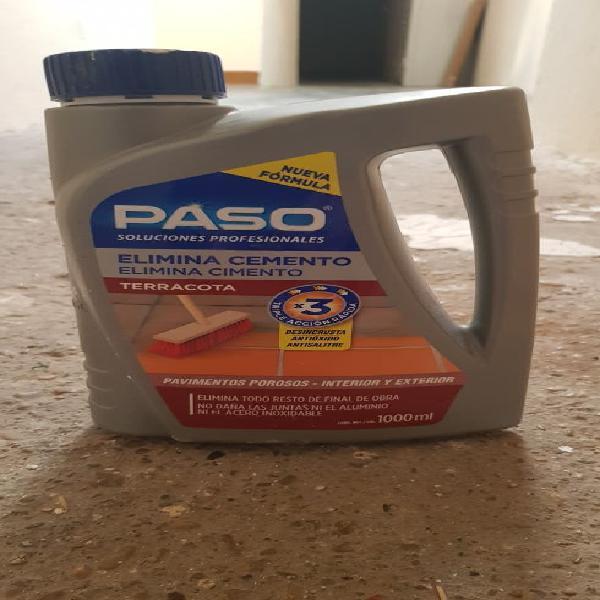 Elimina cemento terracota paso 1 litro