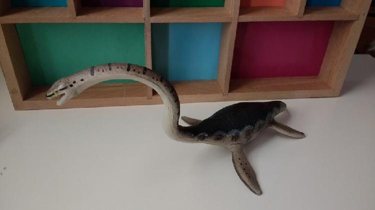 Figura elasmosaurio elasmosaurus safari 1991