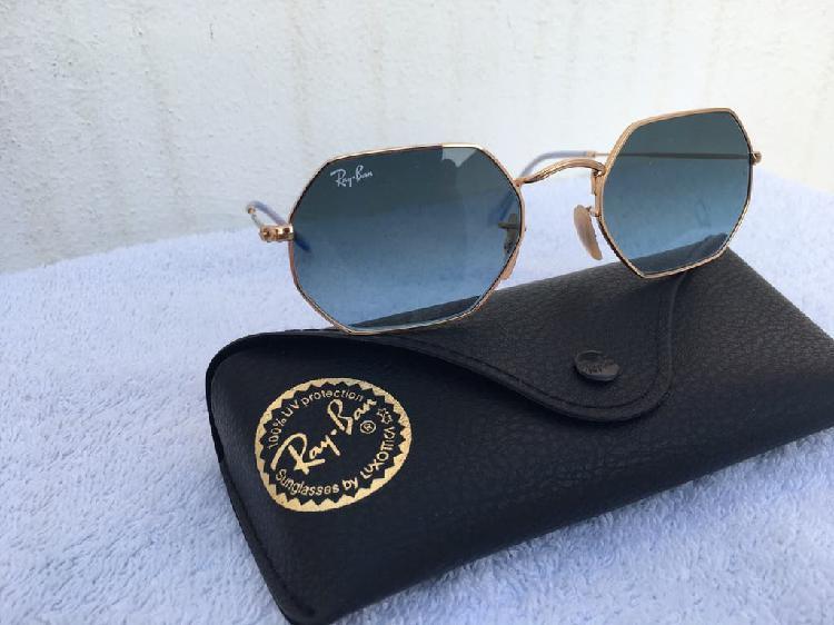 Gafas de sol rayban octagonal nueva original