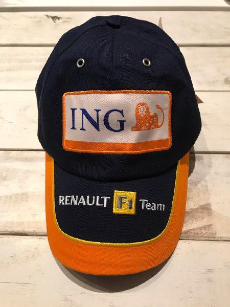 Gorra renault f1 team ing españa