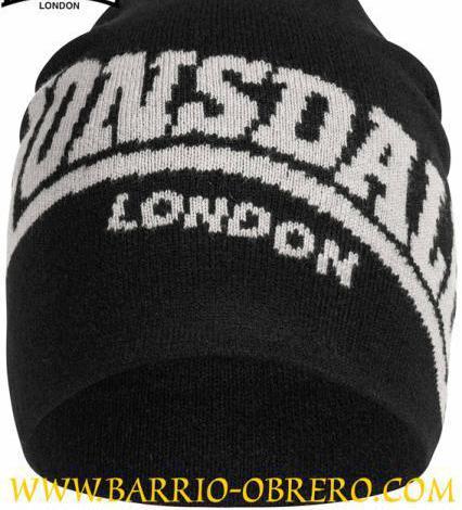 Gorro invierno - logo lonsdale london (contra reembolso