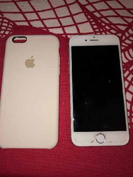 Iphone 6 plata 16gb