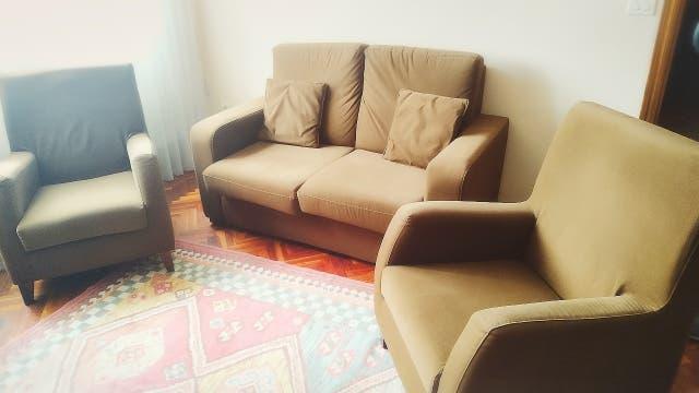 Juego sofá y dos sillones