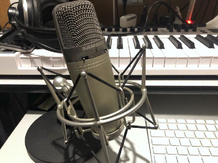 Micrófono usb samson c03u