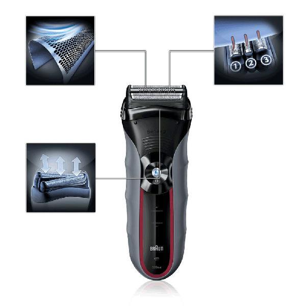 Máquina de afeitar braun, completamente nueva