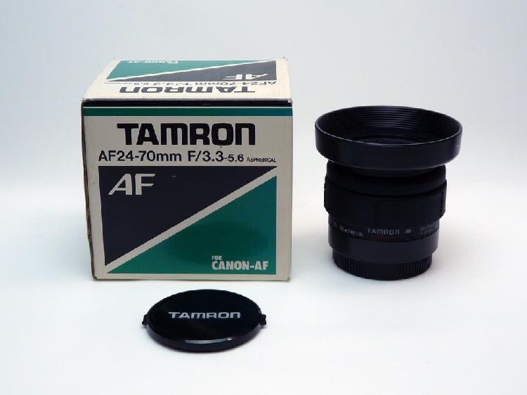 Objetivo gran angular para canon af 24-70mm