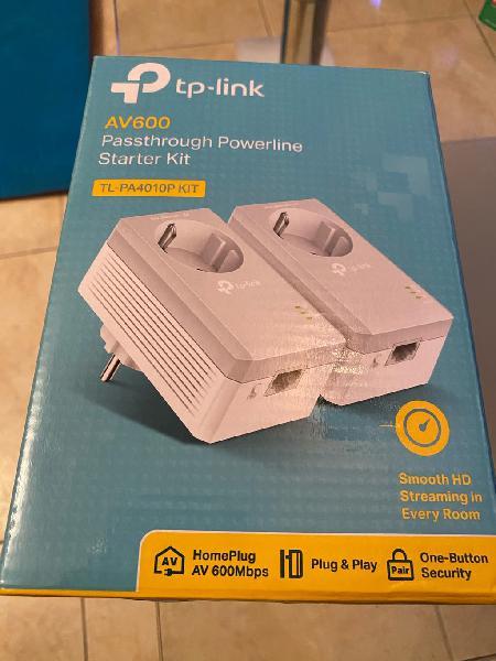 PLC tp link repetidor de red como nuevo