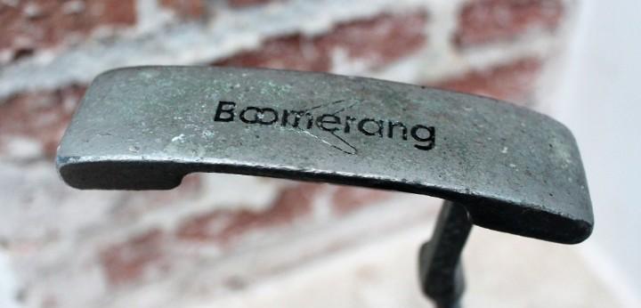 Palo golf vintage - putter boomerang