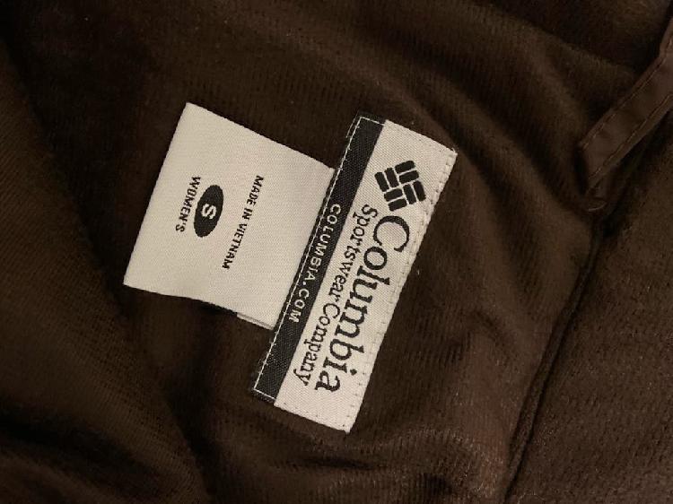 Pantalón esquí marca columbia talla s mujer marron