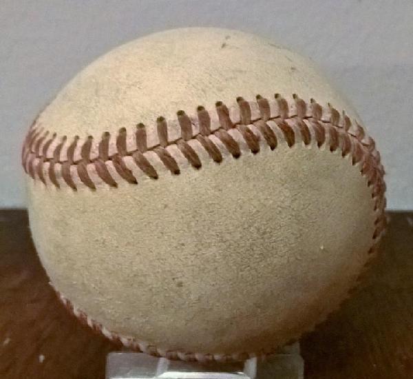 Pelota de béisbol antigua cosida a mano 7 cm diámetro