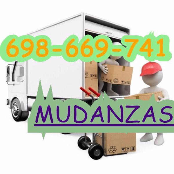 Portes, mudanzas y traslados low cost a t
