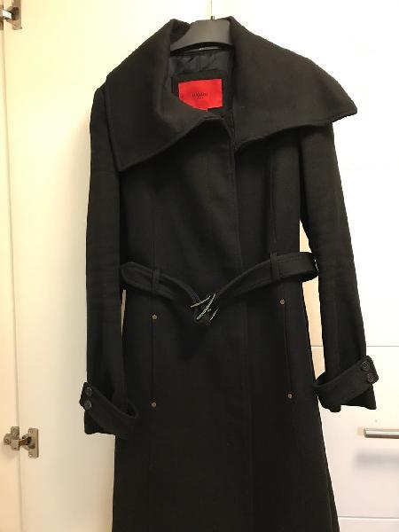 Precioso abrigo de lana mango. talla xs