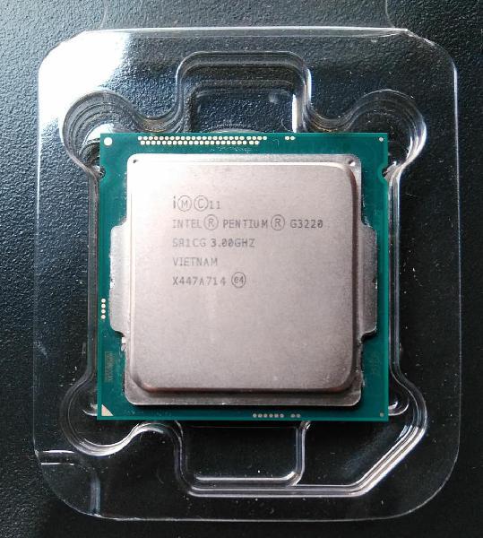 Procesador intel® pentium® g3220 lga 1150 gen 4ta