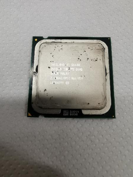 Procesador intel 2 core quad