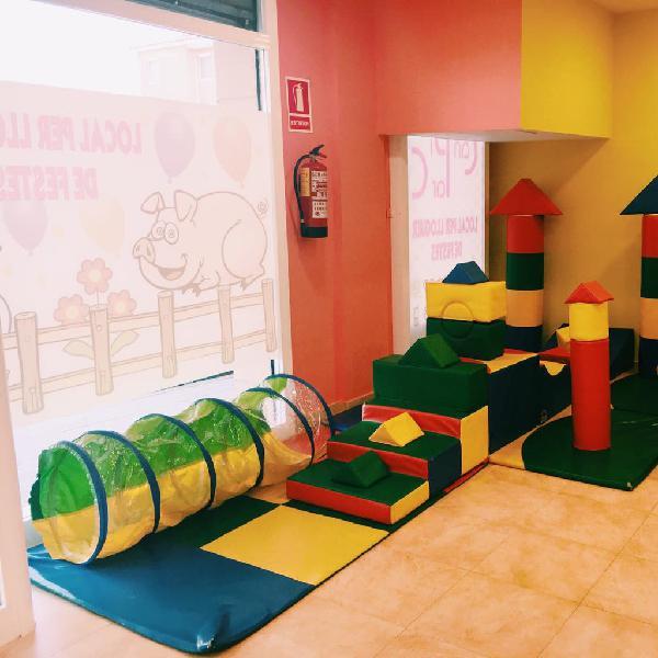 Sala para fiestas infantiles