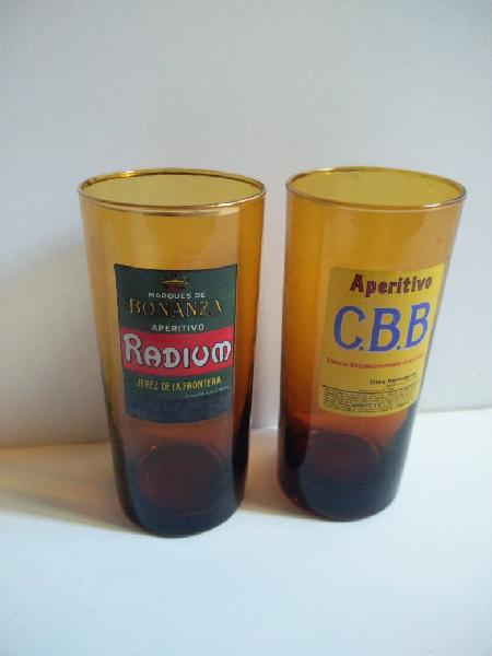 Set 2 vasos vintage