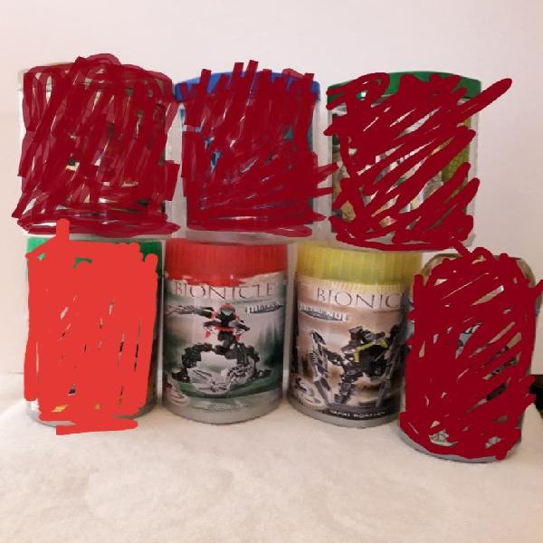 Sets lego bionicle metro nui