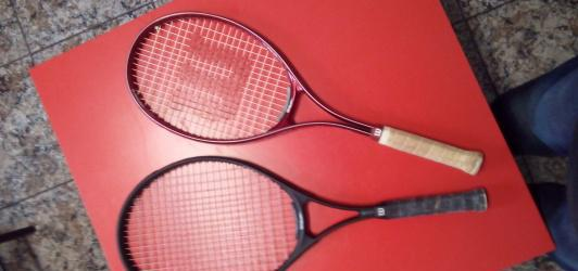 Vendo raquetas de tenis wilson
