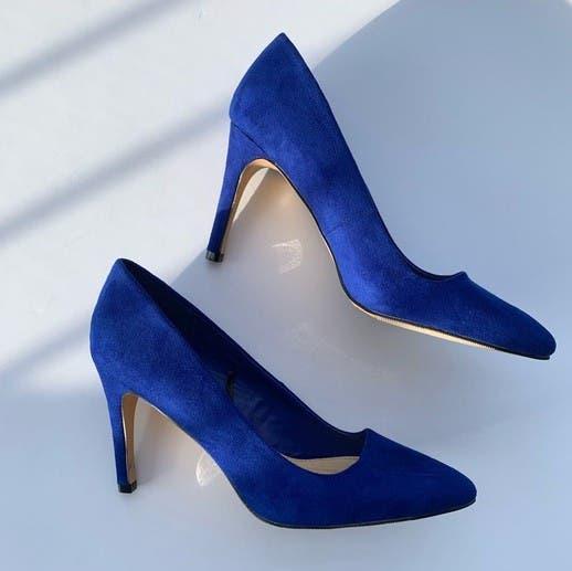 Zapatos antelina número 38,5