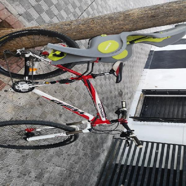 Bicicleta conor afx vendo o cambio