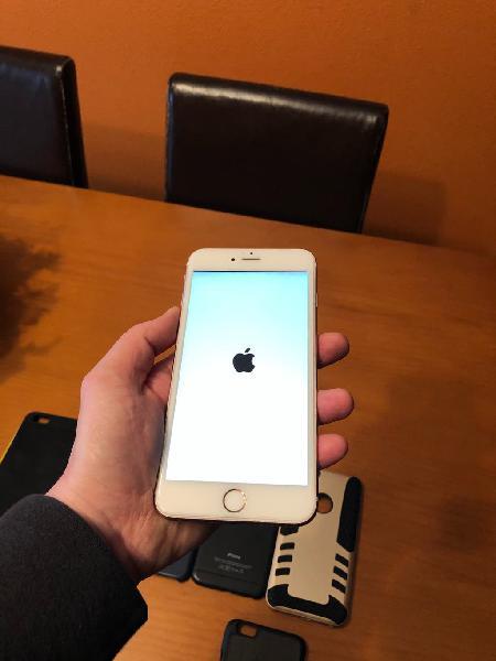 Iphone 6s plus gold rose 64 gigas