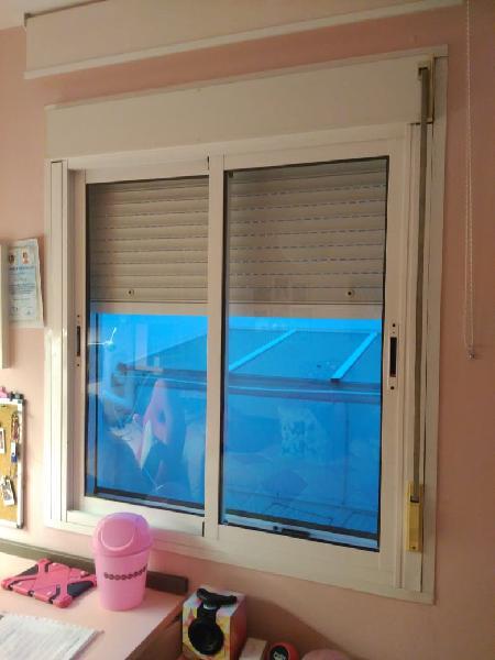 Juego de 3 ventanas correderas de aluminoo