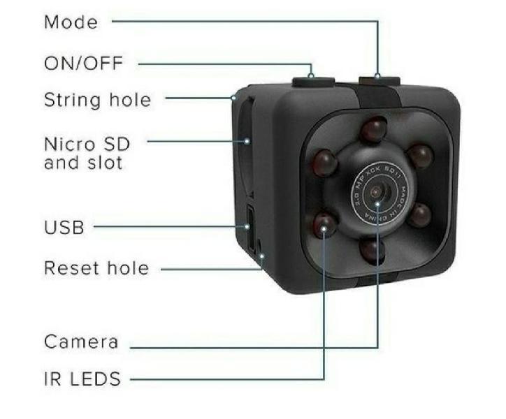 Mini cámara espia nueva