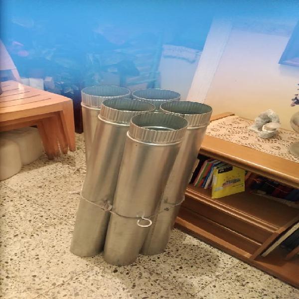 Tubos de acero inoxidable para chimenea o extracto