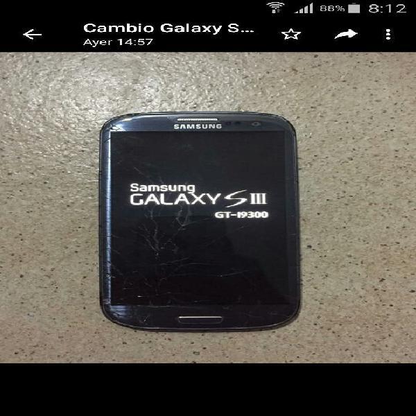 Vendo o cambio samsung galaxy s3