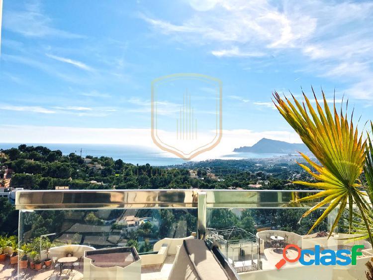 Apartamento con preciosas vistas panorámicas