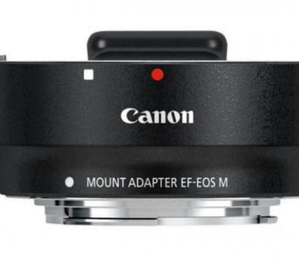 Adaptador canon eos ef/ef-s a ef-m