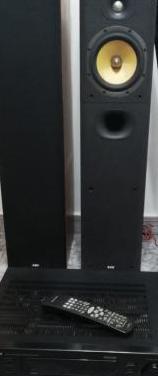 Amplificador marantz y cajas b&w