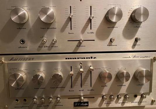 Amplificador marantz dc 1152