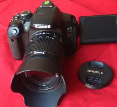 Canon eos 650d objetivo extras