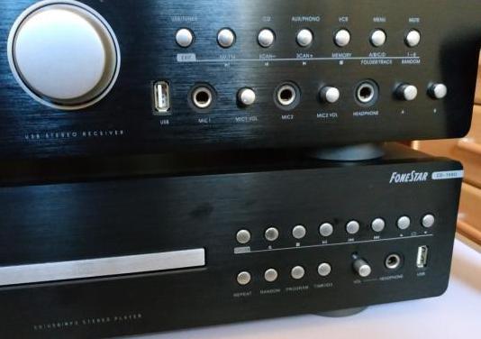 Equipo musica ( cd y amplifcador 160w )