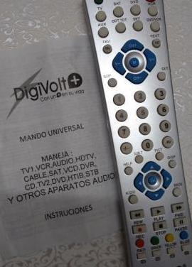 Mando a distancia tv universal