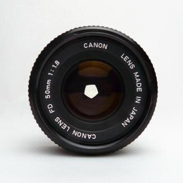 Objetivo canon fd 50 mm f/1.8