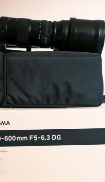 Objetivo sigma 150-600 f/5-5.6 sport