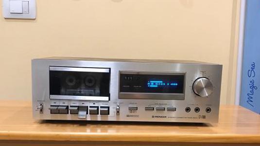 Pletina pioneer ct-f600