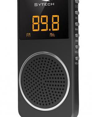 Radio de bolsillo fm pll,micro-sd, recargable