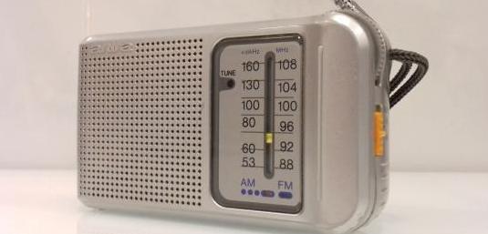 Radio transistor aiwa cr-as22