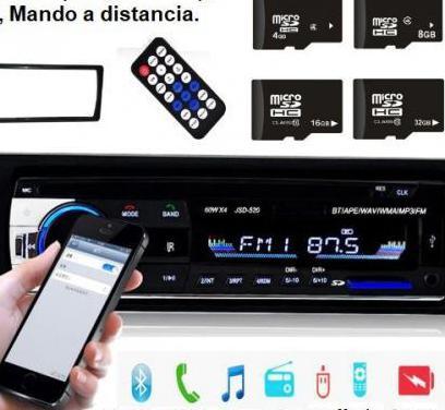 Radio mp3 usb, sd, bluetooth. nueva a estrenar