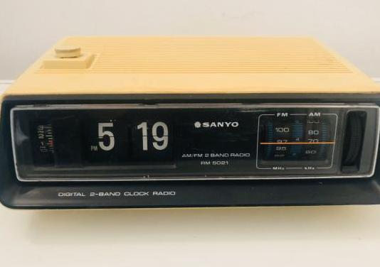 Sanyo rm 5021 flip clock