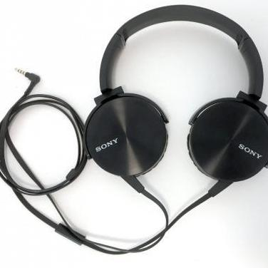 Sony mdr-xb450 auriculares con cable