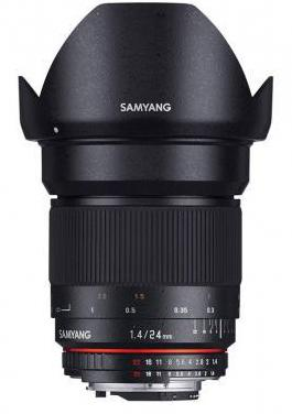 Objetivo samyang 24mm f1.4 ed as iif umc