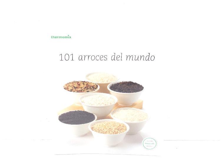 11 % libro cocina thermomix 101 arroces del mundo